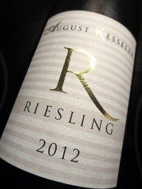 2012 Riesling - R - August Kesseler