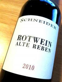 2010 Rotwein - Alte Reben - Markus Schneider