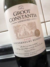 2009 Gouverneurs Reserve - Groot Constantia