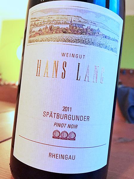 2011 Spätburgunder - Hans Lang