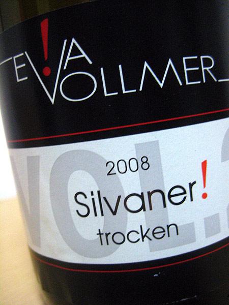 2008 Silvaner ! trocken Vol.2 - Eva Vollmer