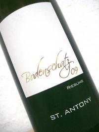 2009 Riesling - Bodenschatz - St. Antony