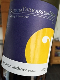 2013 Grüner Veltliner trocken - St. Julianenbrunnen - Rheinterrassenhof