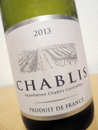 2013 Chablis AC - BEJOT / ALDI