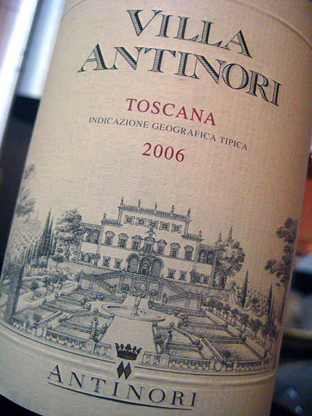 2006 Villa Antinori (rosso) Toscana IGT