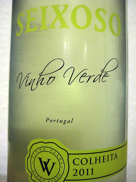 2011 Vinho Verde - Seixoso