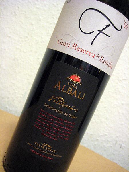 2000 Albali Gran Reserva de Familia - Felix Solis